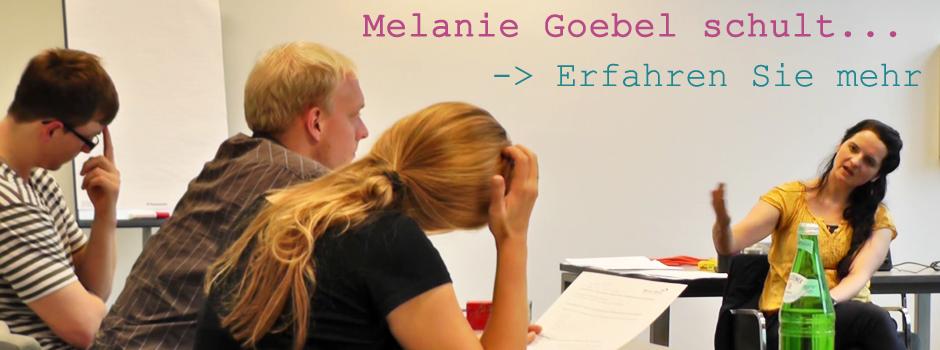 Melanie Goebel schult