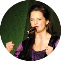 Die Erzählerin Melanie Goebel